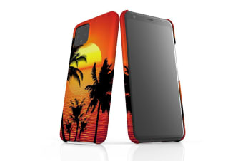 For Google Pixel 4 Snap Case Lightweight Protective Slim Unique Cover Tropical