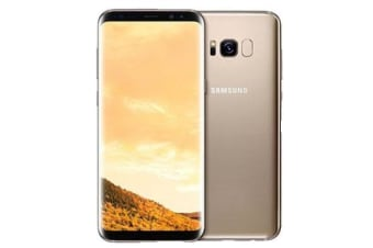 Used as Demo Samsung Galaxy S8 64GB 4G LTE Smartphone Maple Gold Australian Stock (6 month warranty + 100% Genuine)