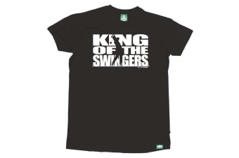 Out Of Bounds Golf Tee - King The Swingers Mens T-Shirt