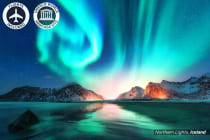 ICELAND: 11 Day Iceland, Stockholm and Copenhagen Tour Including Flights for Two