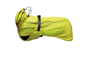 Ancol Muddy Paws Extreme Blizzard Dog Coat (Fluorescent Yellow) (S)