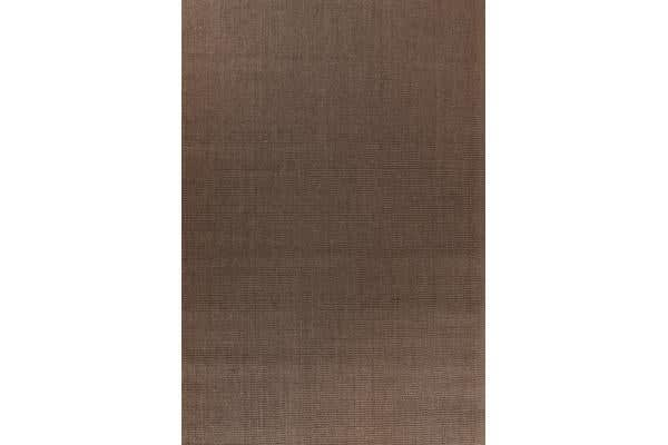 Natural Sisal Rug Boucle Brown 220x150cm