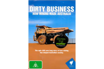 DIRTY BUSNIESS: HOW MINING MADE AUSTRALIA - Region All DVD NEW