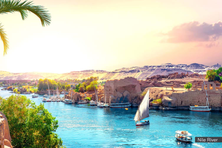 EGYPT: 8 Day Nile Cruise for Two