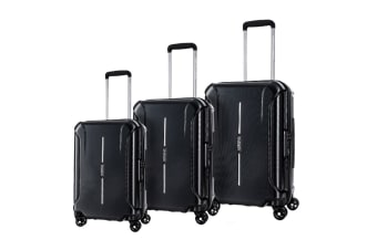 American Tourister Technum 3 Piece TSA Luggage Set (Diamond Black)