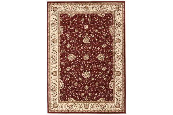 Stunning Formal Classic Design Rug Red 170x120cm