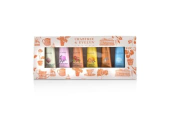 Crabtree & Evelyn Bestsellers Hand Therapy Six-Piece Set 6x25g