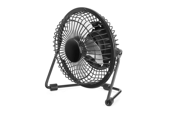 Mini USB Desk Fan (Black)