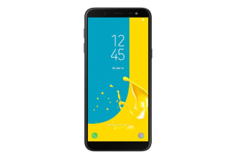 Samsung Galaxy J6 Dual SIM (64GB, Black)