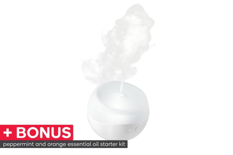 Ellia Dream Ultrasonic Aroma Diffuser - White (ARMH-220WT-WW)