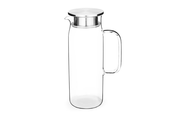 Tramontina 1.6L Premium Glass & Stainless Steel Jug