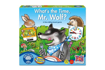 What's the Time Mr Wolf Game by Orchard Toys