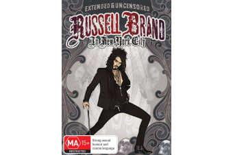 Russell Brand Live in NYC DVD Region 4