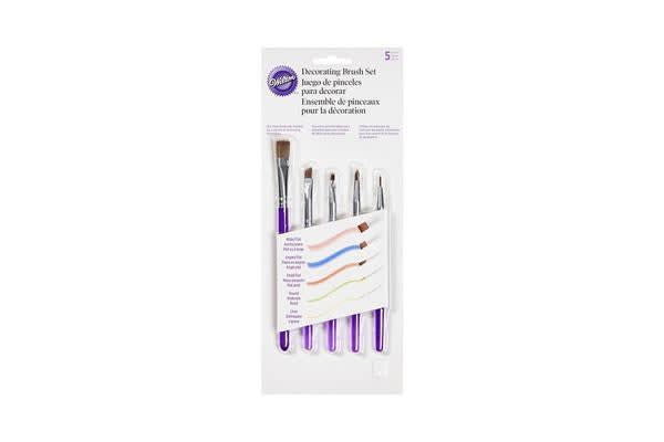 Wilton Decorating Brush Set 5pc