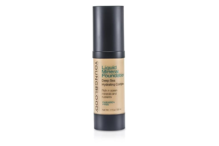 Youngblood Liquid Mineral Foundation - Shell 30ml