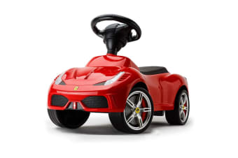NEW Official Ferrari 458 Kids Ride On Car Push Foot To Floor Toddler Toy  Walker
