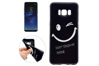 """For Samsung Galaxy S8 Case """"Don't Touch My Phone"""" Durable Protective Cover"""