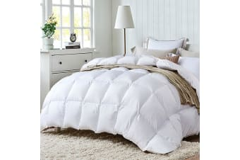 Giselle Bedding Duck Down Feather Quilt 700GSM Duvet Doona Winter Super King
