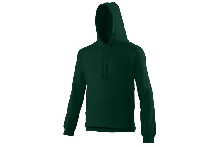 Awdis Unisex College Hooded Sweatshirt / Hoodie (Forest Green) (XL)