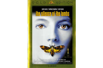 The Silence of The Lambs Gold Edition - Region 4 Rare- Aus Stock Preowned DVD: DISC LIKE NEW