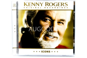 Kenny Rogers Original Recordings - ICONS BRAND NEW SEALED MUSIC ALBUM CD