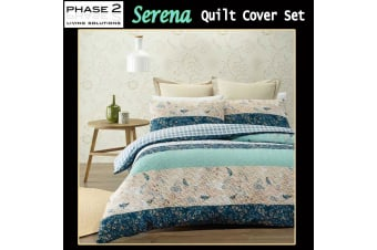 Serena Quilt Cover Set DOUBLE by Phase 2