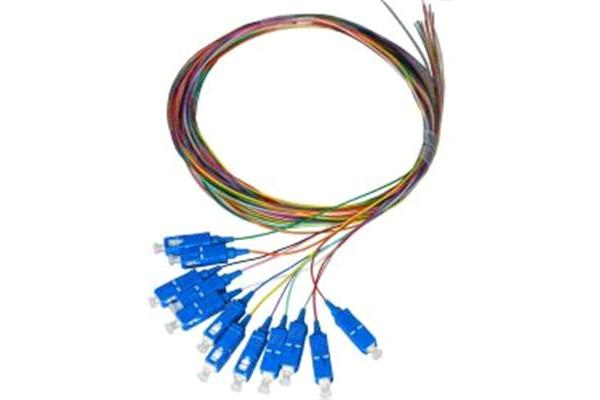 Dynamix FPT-OM3SC-12  2M SC Pigtail OM3 12 Pack   Colour Coded