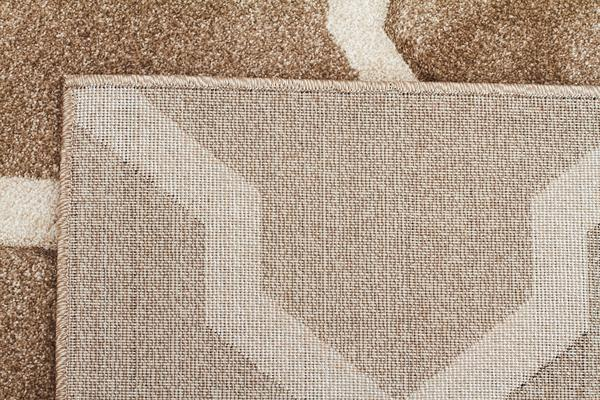 Cross Hatch Modern Rug Beige 170x120cm