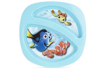 Disney Finding Nemo Toddler/Kids Sectioned Plate BPA Free/Dishwasher Safe
