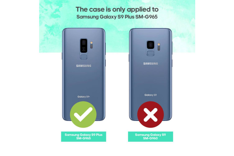 Silver Blade Armour Card Slot For Samsung Galaxy S9 PLUS Case