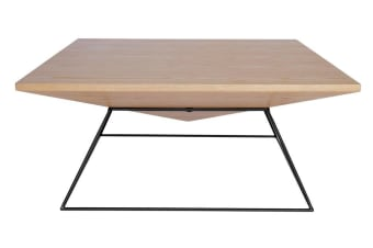 Mos Coffee Table | Black & Natural