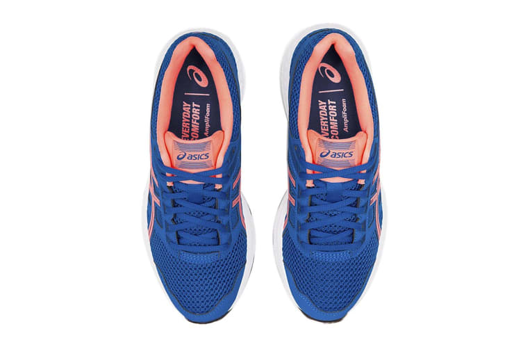 ASICS Women's Gel-Contend 5 Running Shoe (Lake Drive/Sun Coral, Size 8.5 US)