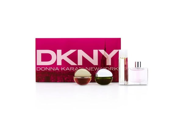 DKNY House Of DKNY Miniature Coffret: City, Be Delicious, Energizing, Golden Delicious (4pcs)