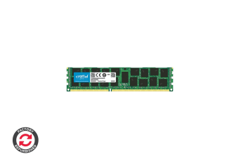 Refurbished Crucial 16GB DDR3 1866 MT/s (PC3-14900) CL13 Registered DIMM 240 Pin for Mac
