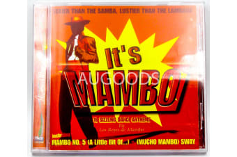 IT'S MAMBO BY LOS REYES DE MAMBO 16 DANCE ANTHEMS MUSIC CD NEW SEALED