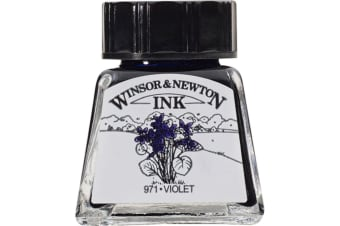 Winsor and Newton Drawing ink 14ml : Violet