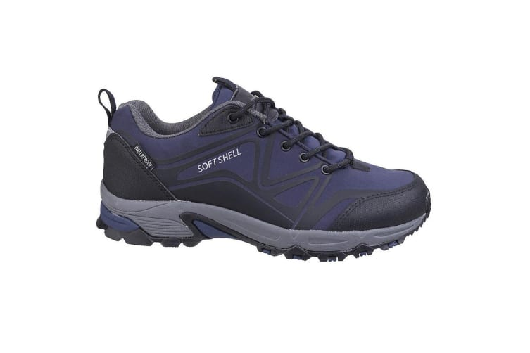 Cotswold Mens Abbeydale Low Hiking Boots (Blue/Black/Grey) (7 UK)