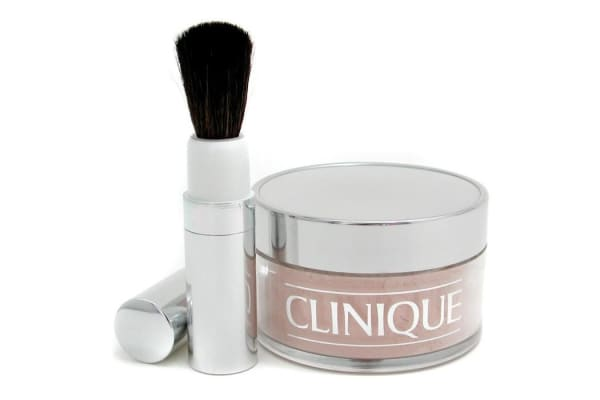 Clinique Blended Face Powder + Brush - No. 02 Transparency; Premium price due to scarcity (35g/1.2oz)