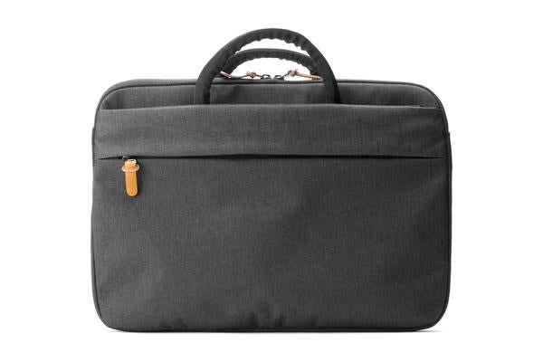 """Booq Superslim 15 Carry Bag for 15"""" Notebooks & Tablets - Black-Tan"""