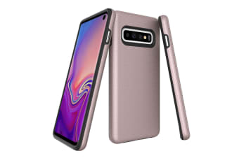 For Samsung Galaxy S10 Case  Armour Rose Gold Protective Durable Phone Cover