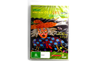 There was an Old Lady who Swallowed a Fly -Kids Series DVD NEW