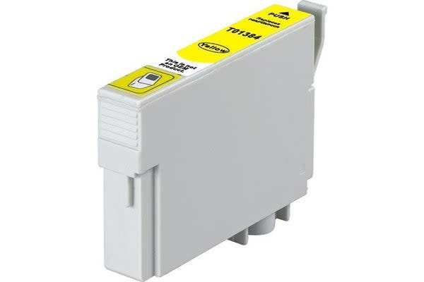 T1384 (138) Pigment Yellow Compatible Inkjet Cartridge