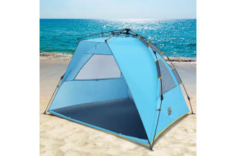 OGL 2 Person Hiking Camping Pop Up Outdoor Waterproof Beach Tent w/Carry Bag