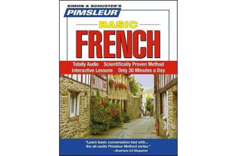 Pimsleur French Basic Course - Level 1 Lessons 1-10 CD - Learn to Speak and Understand French with Pimsleur Language Programs