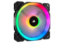Corsair Light Loop Series, LL120 RGB, 120mm Dual Light Loop RGB LED PWM Fan, Single Pack