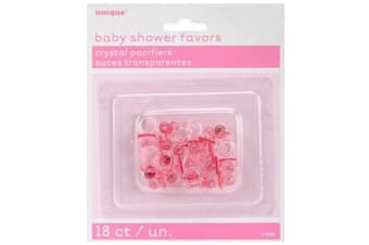 Unique Party Baby Shower Party Favours (Dummy Pink) (One Size)