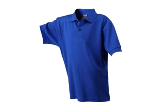 James and Nicholson Childrens/Kids Classic Polo (Dark Royal Blue)