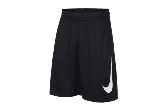 Nike Dri-FIT Boy's Basketball Shorts (Black/Anthracite)