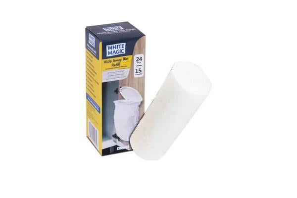 White Magic Hide Away Bin Refill