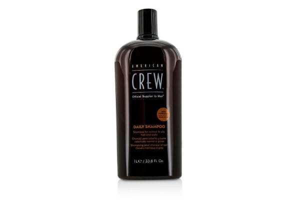 American Crew Men Daily Shampoo (For Normal to Oily Hair and Scalp) (1000ml/33.8oz)
